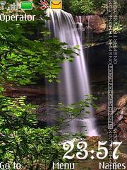 Скриншот темы Waterfalls