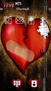 Heart by Shawna es el tema de pantalla