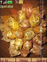 Golden autumn es el tema de pantalla