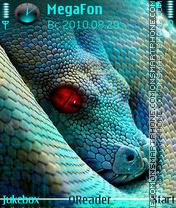 Snake es el tema de pantalla
