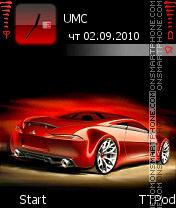 Red Car os 7-8 es el tema de pantalla
