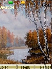 Autumn landscapes tema screenshot