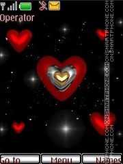 Heart theme screenshot