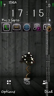 Dark Wood v5 theme screenshot