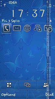 Butterflies v5 theme screenshot