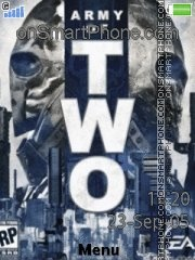 Army of two es el tema de pantalla