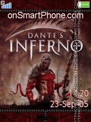 Dantes inferno tema screenshot