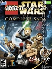 Lego star wars tema screenshot