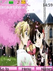 Ouran High School Host Club theme screenshot