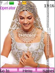 Sushmita Sen theme screenshot