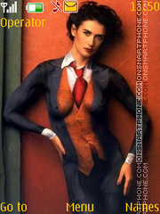 Demi Moore Body-Art theme screenshot