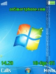Windows 7 New es el tema de pantalla