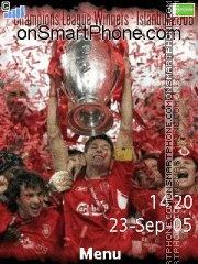 Liverpool Fc 10 es el tema de pantalla