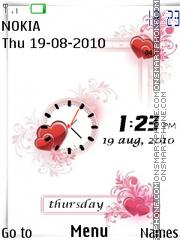 Vector Dual Clock Theme-Screenshot