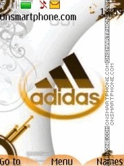 Adidas Gold theme screenshot