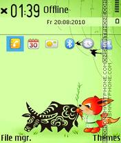 Capture d'écran Spring 17 thème