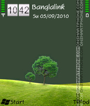 Nature by Drockk theme screenshot