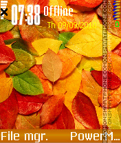 Autumn by Kallol theme screenshot