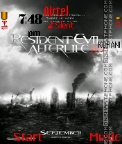 Resident evil afterlife theme screenshot