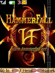 HammerFall theme screenshot