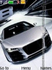 Audi RS8 theme screenshot
