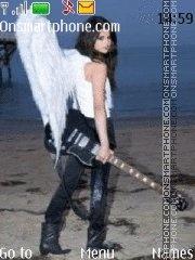Selena Gomez Angel es el tema de pantalla