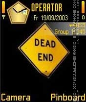 Dead End theme screenshot