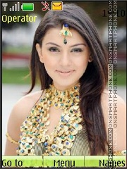 Hansika Motvani Theme-Screenshot