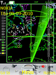 Radar theme screenshot
