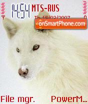 White Wolf theme screenshot