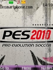 PES 2010 theme screenshot