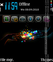 Magical Touch theme screenshot