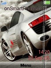 Audi R8 19 theme screenshot