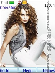 Kangna Ranaut theme screenshot