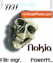 Nokia2 es el tema de pantalla