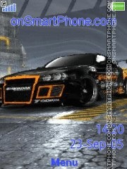 NFS PS Skyline theme screenshot