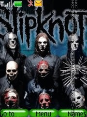 Slipknot theme screenshot