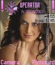 Karina Kaif theme screenshot