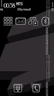 Black Wave 03 theme screenshot