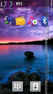 Blue Sea 03 theme screenshot
