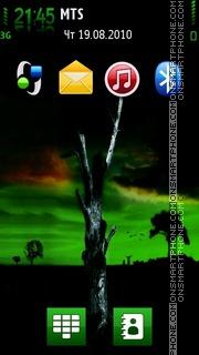 Dark Tree theme screenshot