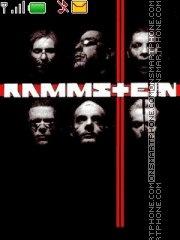 Скриншот темы Rammstein