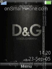 Скриншот темы Dolce Gabbana 05