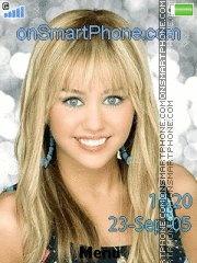 Capture d'écran Hannah Montana 05 thème