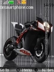 Ktm Bike theme screenshot