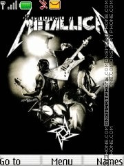 Metallica 21 theme screenshot