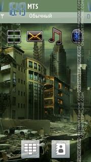 Скриншот темы Broken City