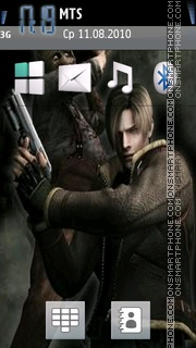 Resident Evil 4 05 theme screenshot