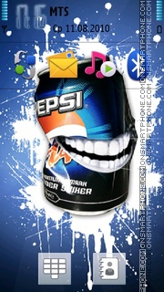 Pepsi 10 es el tema de pantalla