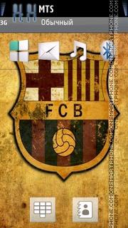 Barcelona 11 tema screenshot